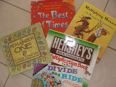 Best Children's Books to Teach Multiplication and Division. I am always up for anything that integrates literature and other content areas!