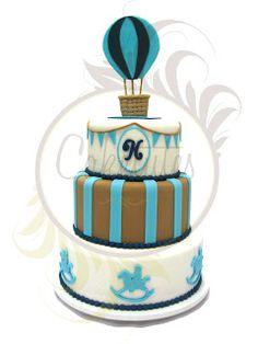Caketutes Cake Designer: Bolo Balão - Ballon cake