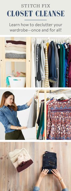 This year, instead of a juice cleanse, resolve to give your closet a cleanse! Follow these simple steps to find your own closet nirvana—once & for all.