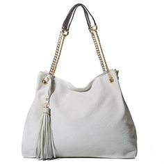 Handbag Republic Vegan Leather Denim Tote Bag Shoulder Bag With Tassel and Metal Chain Strap For Women >>> Be sure to check out this awesome product. (This is an affiliate link) diy hobo bag Vegan Handbags, Hobo Handbags, Fashion Handbags, Hobo Bags, Hand Bags 2017, Denim Tote Bags, Shoulder Purse, Metal Chain, Vegan Leather