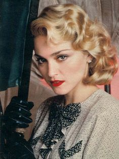 Madonna pin up girl style 1986