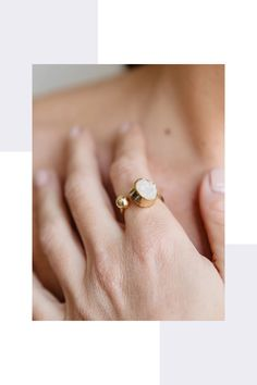 Together We Can, Everyday Look, Druzy Ring, Sustainable Fashion, Sustainability, Fashion Accessories, Women Wear, Collections, Glamour