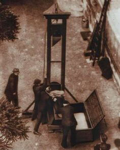 The last usage of guillotine execution.