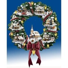 98 Best Thomas Kinkade Images Diy Christmas Decorations Christmas