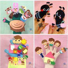 子どもの頃作っていた手袋を巻いたりくくったりして作る手袋人形、作り方覚えていますか?その他に手袋をリメイクして作る手袋人形もあります。簡単な作り方で手袋人形を楽しんでみませんか?手袋の指人形や手袋シアターの作品もご紹介します。