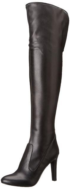 Nine West Women's Chorus Over the Knee Boot,Black,5 M US