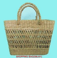 The woven bags use natural products that are environment-friendly and bio-degradable. Carry your fresh-produce, daily travel odd-ends or simply store your scarves, slippers or toiletries. On a day at the beach carry this to pack picnics in or else towels and casual-wear. #craftsofindia #indianhandicrafts #madeinindia #craftsbazaar #artsandcrafts #handmade