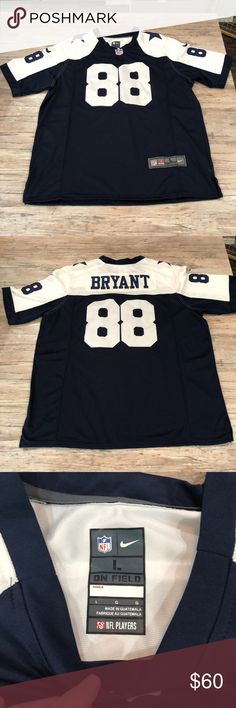 Dallas Cowboys Jersey Dallas Cowboys  88 Bryant jersey. Excellent used  condition. Smoke free f2cbf8b3c