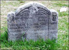 Headstone of Rebekah Bonfild