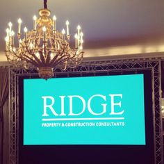 The evening proved to be a great success, thanks to @edgedesignltd our #brandnew website is live, go check out the all new www.ridge.co.uk! #ridgeRAC