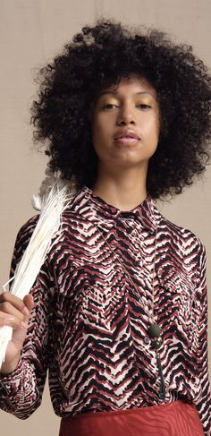 Cut in a straight fit, this long-sleeved shirt is decorated with a zebra print design in pink and black tones, completed with a narrow collar and button-down front. Mayan Symbols, Viking Symbols, Egyptian Symbols, Viking Runes, Ancient Symbols, Fabric Design, Pattern Design, Print Design, Tribal Patterns