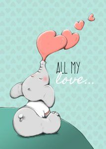All my love #vriendinnendag #quote