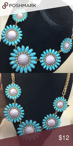 Statement necklace Statement necklace gold tone Jewelry Necklaces