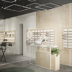 Retail Interior, Shop Interior Design, Optic Shop, Pharmacy Design, Retail Store Design, Shop Interiors, Commercial Interiors, Interior Architecture, Living Room Decor