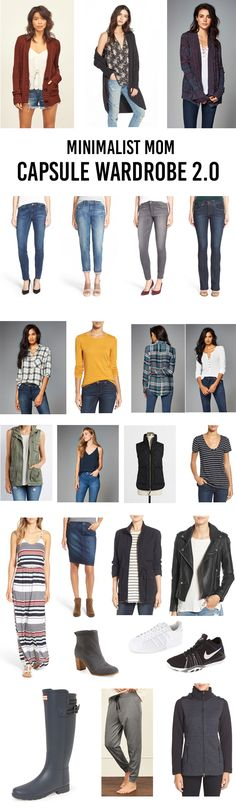 Minimalist Mom Capsule Wardrobe - All of these picks are ridiculously cute, comfy and easy to wear and they'll make getting dressed in the morning a breeze!