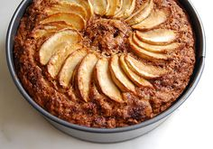 Eggless Apple Cake - Recipe - Vegan Apple Cake