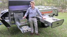Off-Road Camper Trailer - 2012 Kimberley Kampers Camping Kitchen