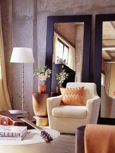 comment bien associer nuancier violet, canape beige de salon, lampe de salon…