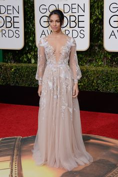 Miss Golden Globes Corinne Foxx