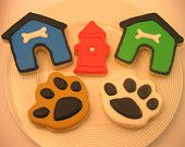 Dog Sugar Cookies - Dog Lovers Collection - 18 cookies