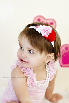 Headband made by Danica's Chic Bowtique <3