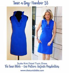 The Tunic Bible - Today's forecast...nothing but blue!