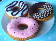 Donut selection - felt food