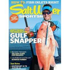 Salt Water Sportsman (1-year), (fishing, boating, magazine, salt water, firearms, outdoors, recreation)