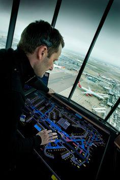London Heathrow Tower Air Traffic Controller