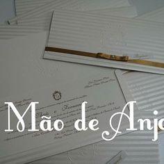 Convites by Mão de Anjo #maodeanjo #convitemaodeanjo #convitecasamento