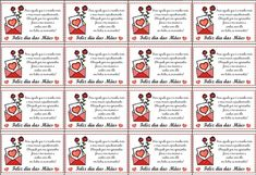 30 cartões de dia das mães para imprimir! 30 modelos de cartão de dia das mães para lembrancinha! - ESPAÇO EDUCAR