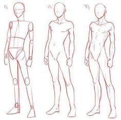Мои закладки tutorials drawing drawings, body drawing tutorial и guy drawin Drawing Body Poses, Body Reference Drawing, Anime Poses Reference, Anatomy Reference, Male Pose Reference, Drawing Base, Guy Drawing, Drawing People, Drawing Tips