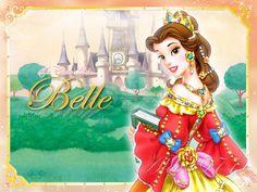 The Disney Ladies - Belle by Alce1977.deviantart.com on @deviantART