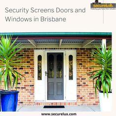 Crimsafe security screens installed by Securelux. We service Brisbane, Logan, Ipswich, Gold Coast and Northside.