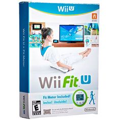 The Best Workout Video Games: Wii Fit U - more than 70 workouts that burn up to 512 cals an hour, plus an activity tracker to help you keep track of your fitness! Best Workout Dvds, Best Workout Videos, Workout Gear, Fun Workouts, Exercise Videos, Xbox, Playstation, Workout Splits, Geek Party