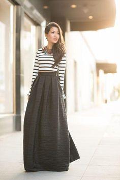 Petite & Couture | #Truque: Cintura Alta SAIA LONGA: WENDY NGUYEN - WENDY`S LOOKBOOK