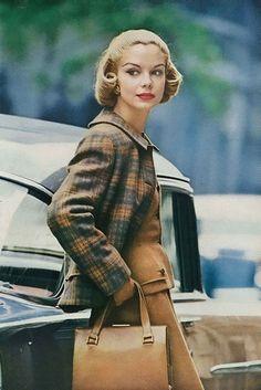 Gretchen Harris September Vogue 1956