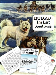 Updated for 2015! Teach your students about Alaska and the last great race, The Iditarod!