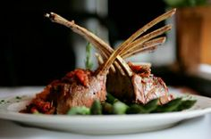 Rack of Lamb Our rack of lamb is incredibly tender and delicious, and the elegantly frenched bones make a beautiful presentation. Try one of our simple recipes for this special cut of lamb. April Recipe, Roast Rack Of Lamb, Lemon Bread, Vegetarian Appetizers, Lamb Recipes, Food Photo, Easy Meals, Favorite Recipes, Stuffed Peppers