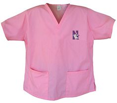 Northwestern Pink Scrubs Tops SHIRT -Size 2X Northwestern Wildcats Ladies Broad Bay http://www.amazon.com/dp/B00561T3EW/ref=cm_sw_r_pi_dp_QXIBvb0SDBMDN