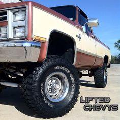 Chevrolet Lifted Silverado Truck: Year: 1987 Model: Silverado Engine: Original TBI 350