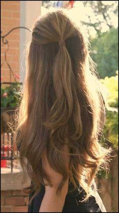 47 Besten Frisuren für Lange Haare - Haare Styles | Einfache Frisuren