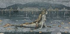 """The Little Mermaid"" Hans Christian Andersen, Author. Boris Diodorov Illustrator."