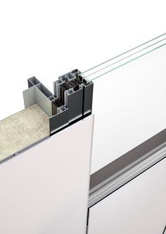 HUECK Trigon GSP - das Glas-Sandwich-Fassadensystem ist eine innovative Revolution der Fassaden-Technologie. Durch die individuelle Bedruckung mit vollflächigen Farben, Bildern, Schriftzügen oder grafischen Elementen können großzügige Glasflächen ästhetisch gestaltet werden.