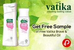 Dabur Vatika #offers Free #VatikaBrave & Beautiful Oil and Shampoo Sample. Its specially designed and derma to logically tested for the sensitive hair & scalp of cancer patients. http://www.paisebachaoindia.com/get-free-sample-of-free-vatika-brave-beautiful-oil-vatika/