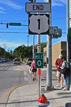 Key West, Florida.  0 mile marker!  Go to www.YourTravelVideos.com or just click on photo for home videos and much more on sites like this.