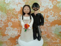 The Princess Bride Wedding Cake Topper by mudcards on Etsy, $80.00