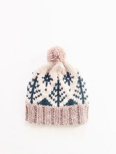 Cozy up in this patterned cap inspired by mountain resort getaways. Whether you're indulging in an après-ski, strolling the streets of your favorite snow-tipped ski town, or just hitting up the local market, the Adirondack Toboggan will keep you warm and looking chic! This is an intermediate level knitting pattern, and the techniques you will need to know are knit, purl, k2tog, and stranded knitting in the round, as well as knitting on double pointed needles. Dimensions of finished ha...