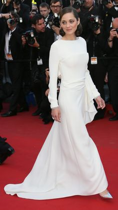 Marion Cotillard attends the premiere of The Immigrant at the 66th annual Cannes Film Festival. via @stylelist | http://aol.it/ZpOmTq