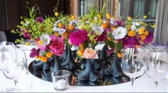 Table decoration - Dutch Flowers - Menno Kroon - Symphony Room - Conservatorium Hotel Amsterdam